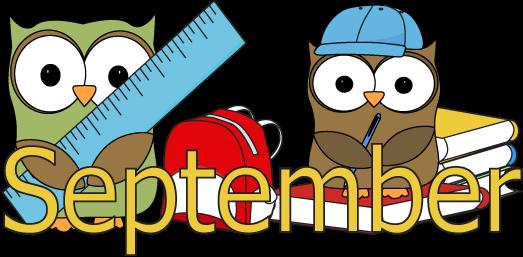 September clipart. Teachers