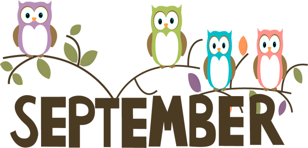 Month of . September clipart