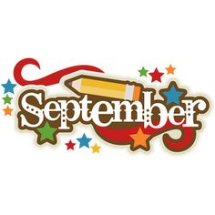 September clipart. Free month clip art