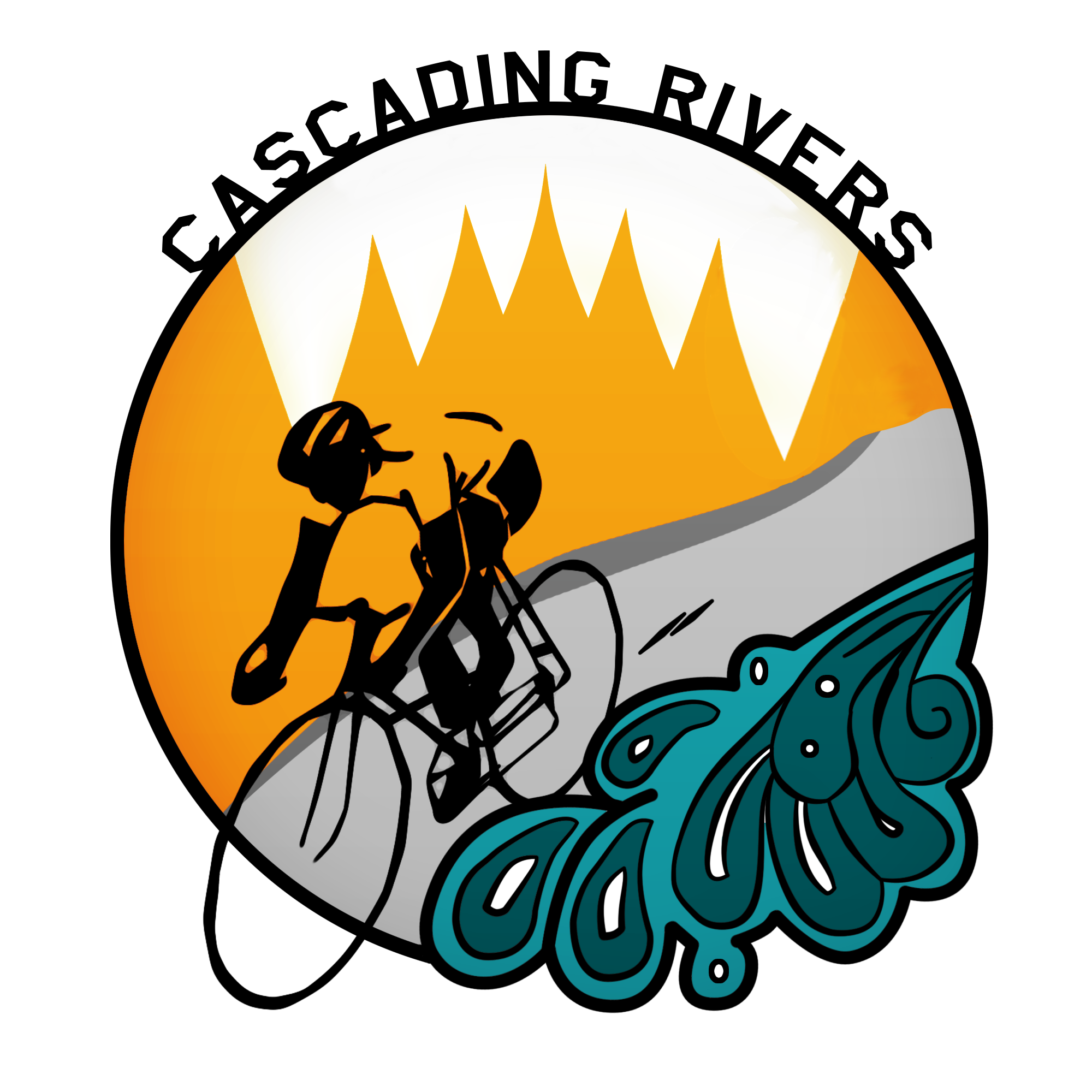 Cascading rivers rides orbike. September clipart 5 leave