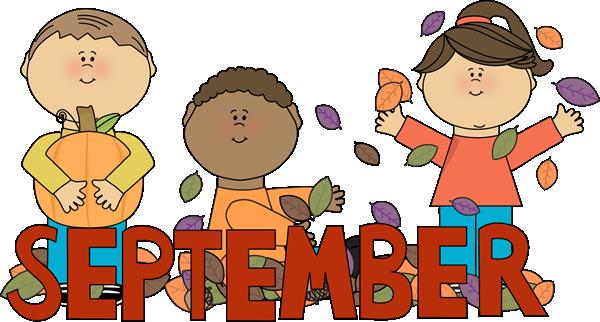 September clipart. Clip art free http