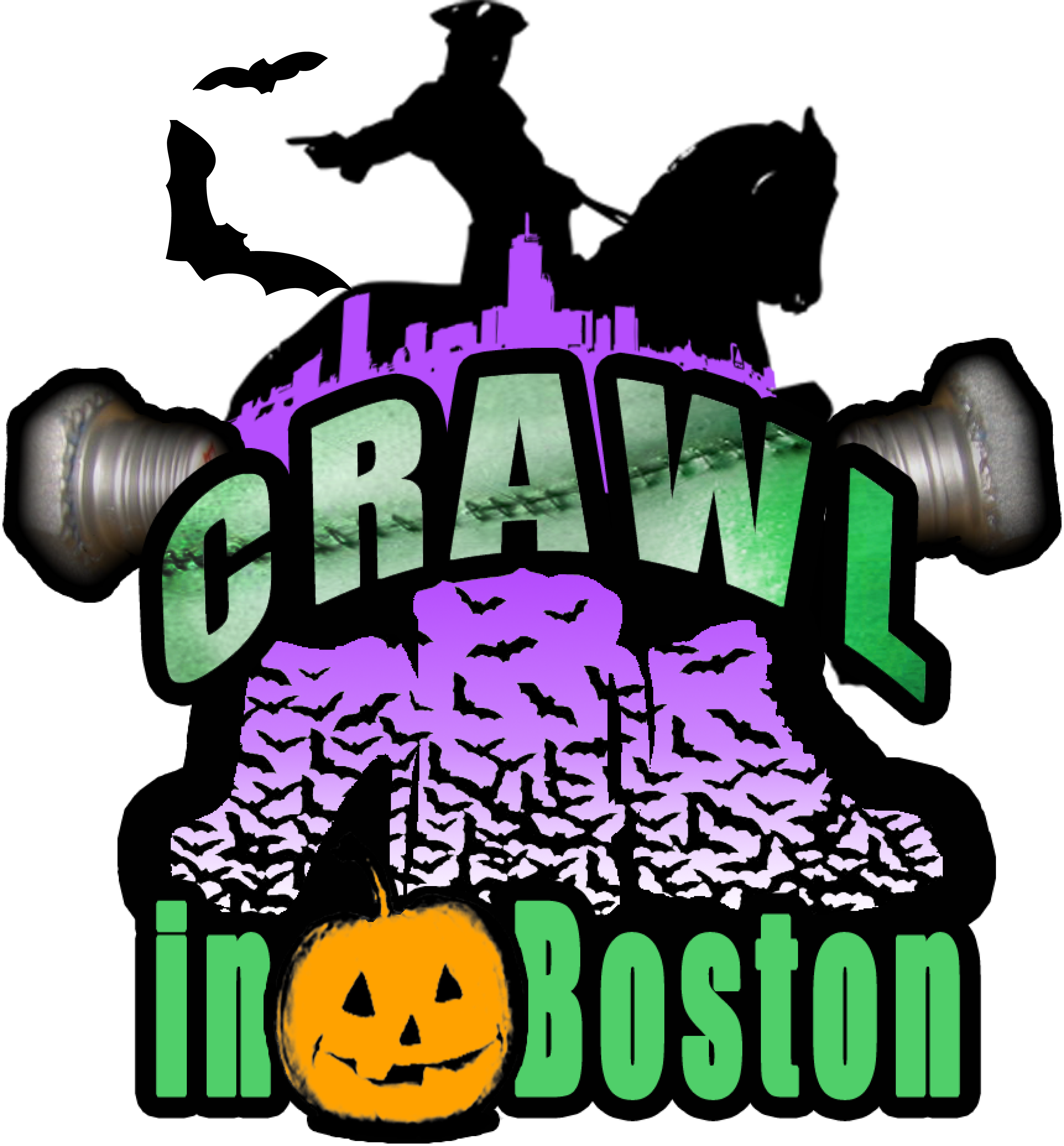 Crawl in boston halloween. September clipart early fall