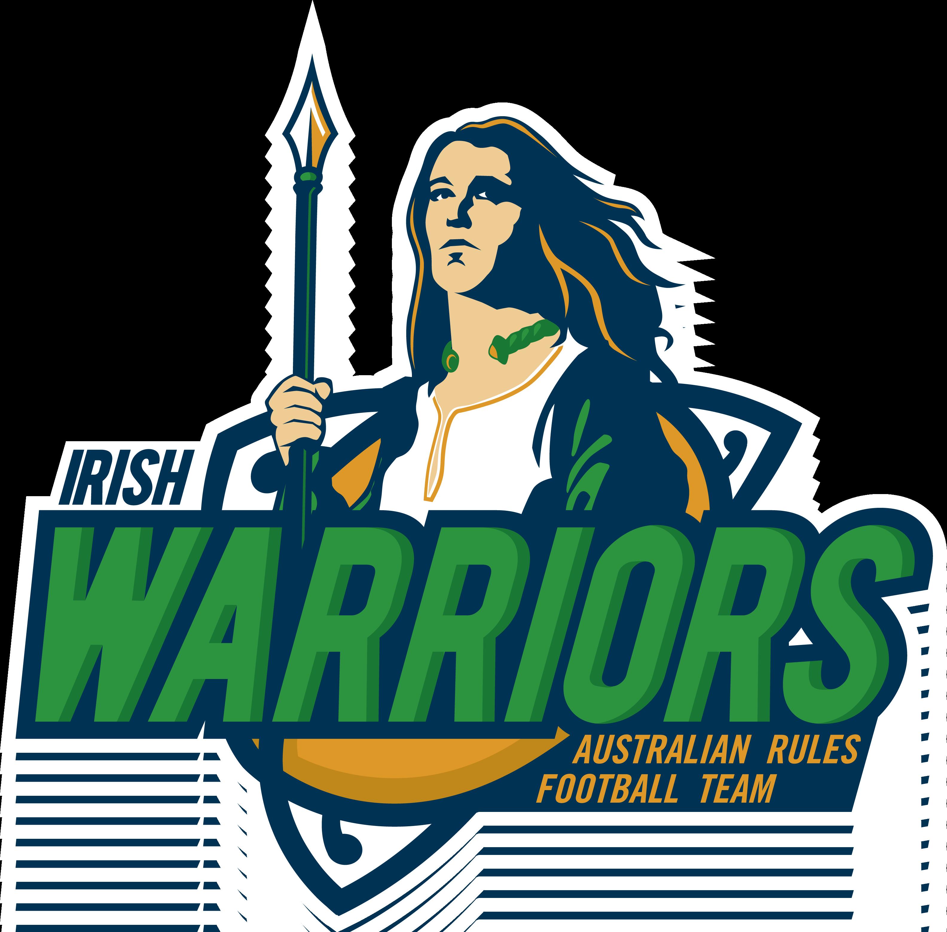 Warrior clipart warrior football. Australian rules league of
