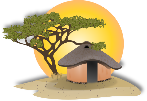 village setting clip art