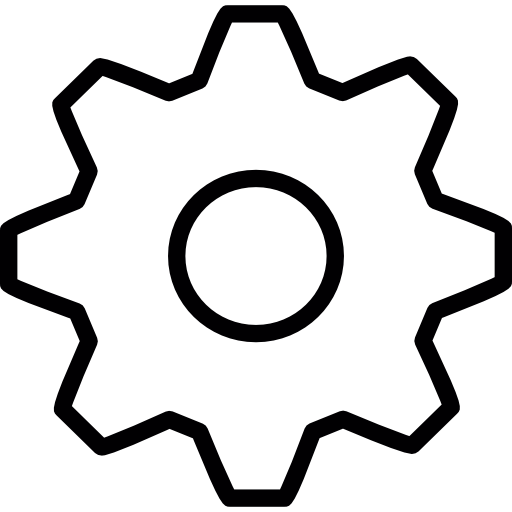 Free tools and utensils. Settings icon png