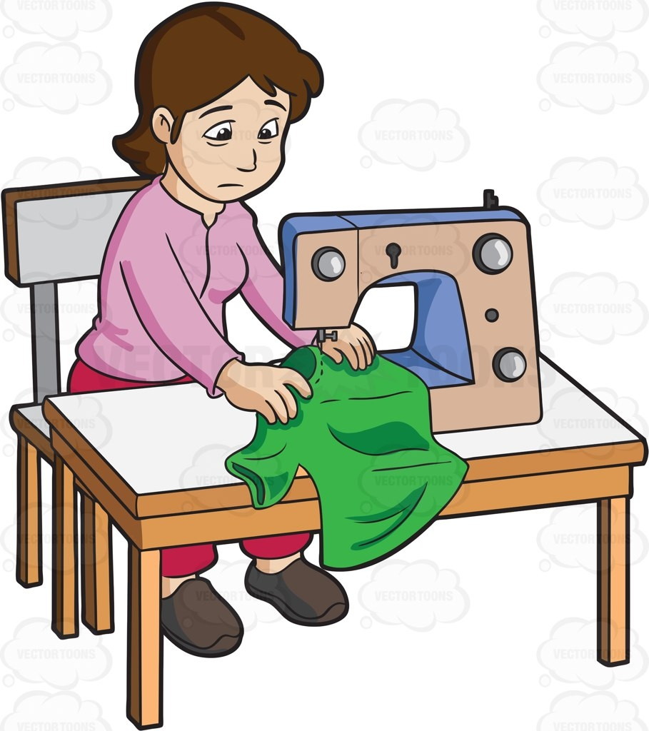 Sewing clipart. New gallery digital collection