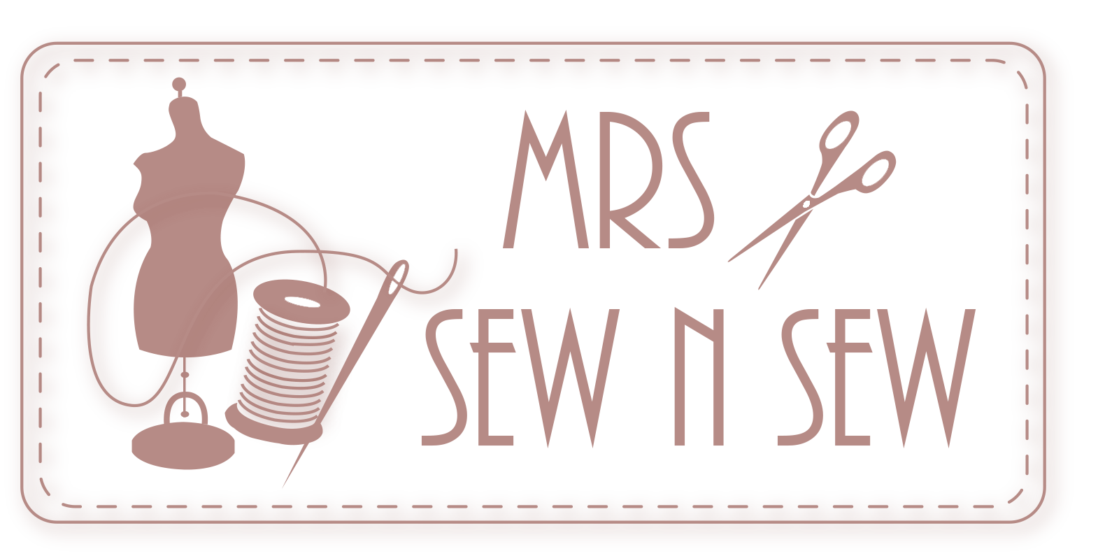 Mrs sew n northampton. Sewing clipart clothing textile