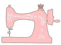 Sewing clipart pink. Free cliparts download clip