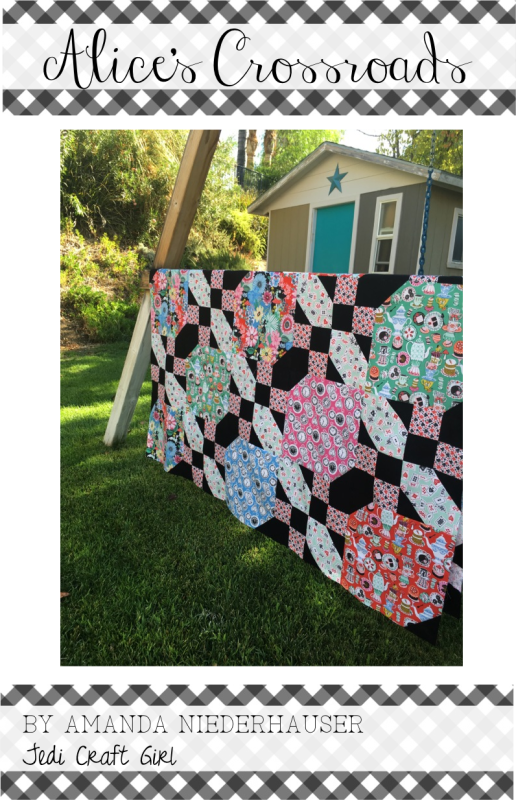 Alice s crossroads pattern. Sewing clipart quilt