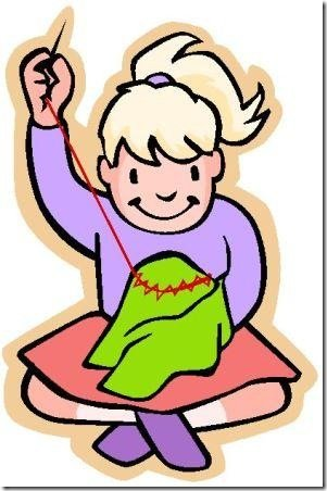 Portal . Sewing clipart sewing clothes