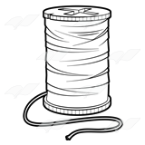 Free cliparts download clip. Sewing clipart spool thread