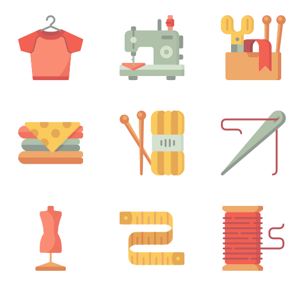 Sewing clipart svg.  tailor icon packs