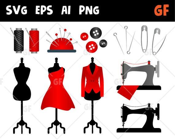 Sew clip art machine. Sewing clipart svg