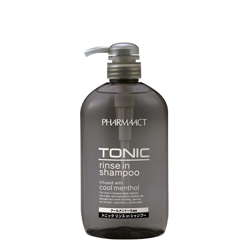 Shampoo bottle png. Pharmaact tonic rinse in
