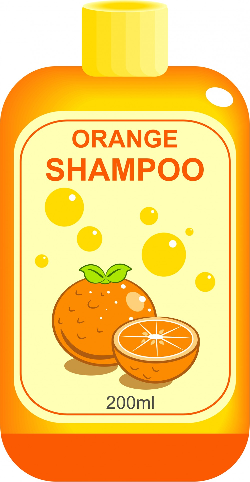 Shampoo clipart. Bottle of free stock