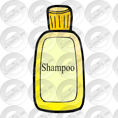 Picture for classroom therapy. Shampoo clipart