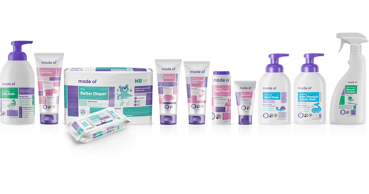 Organic bath and body. Shampoo clipart baby wash
