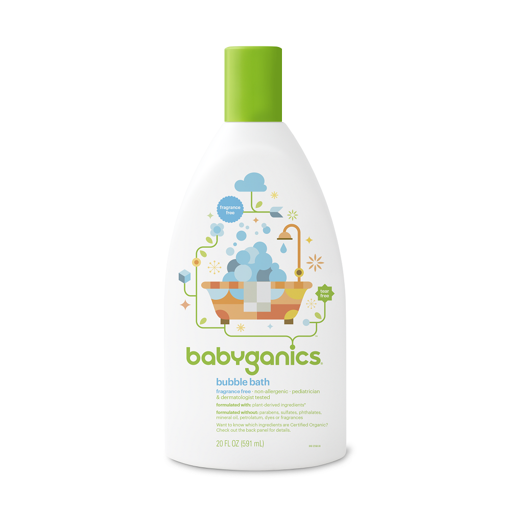 Fragrance free babyganics . Shampoo clipart bubble bath bottle