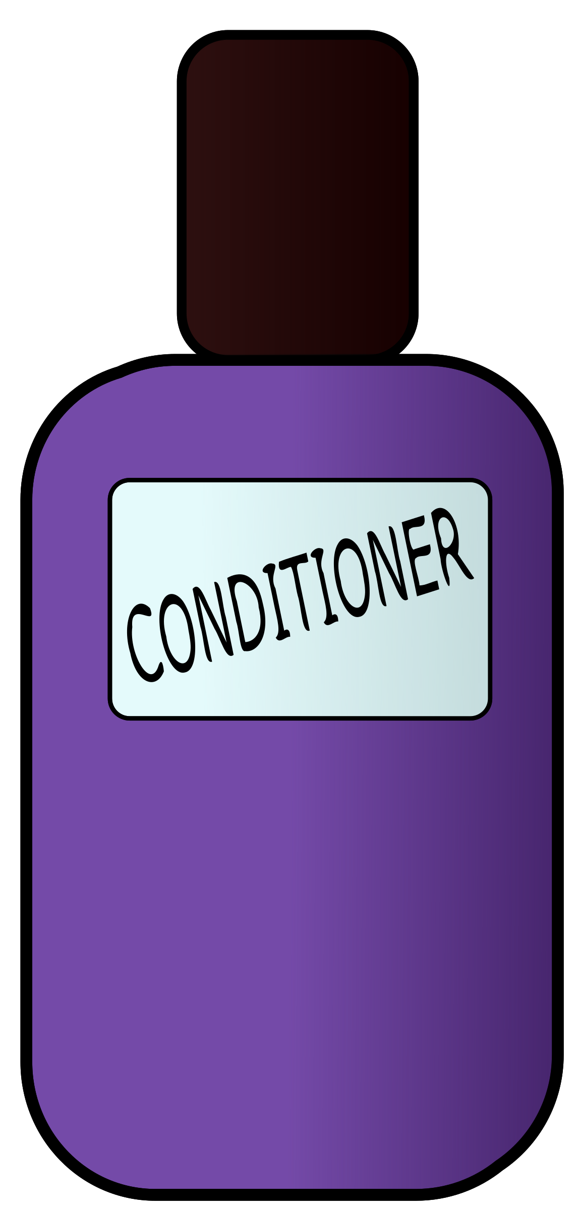 conditioner huge freebie. Shampoo clipart line
