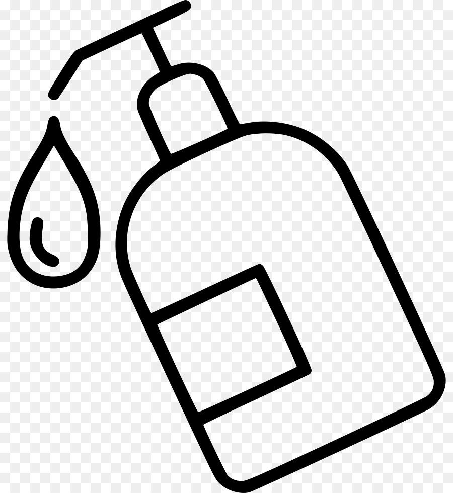 Shampoo clipart line. Technology background