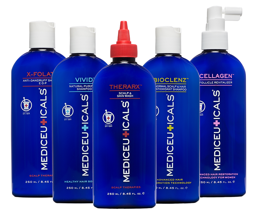 Mediceuticals beautiful starts with. Shampoo clipart oily hair
