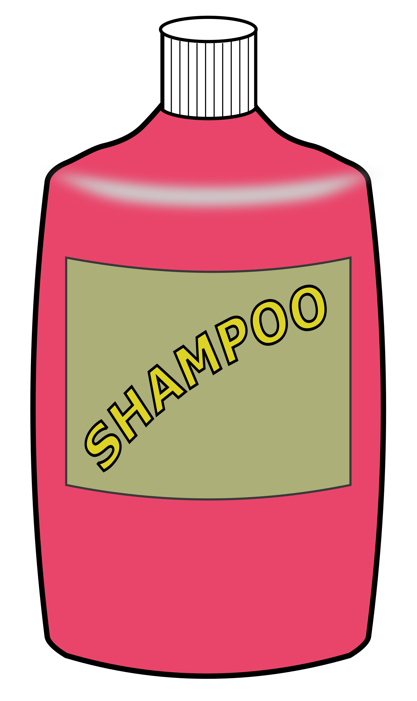 shampoo huge freebie. Soap clipart outline