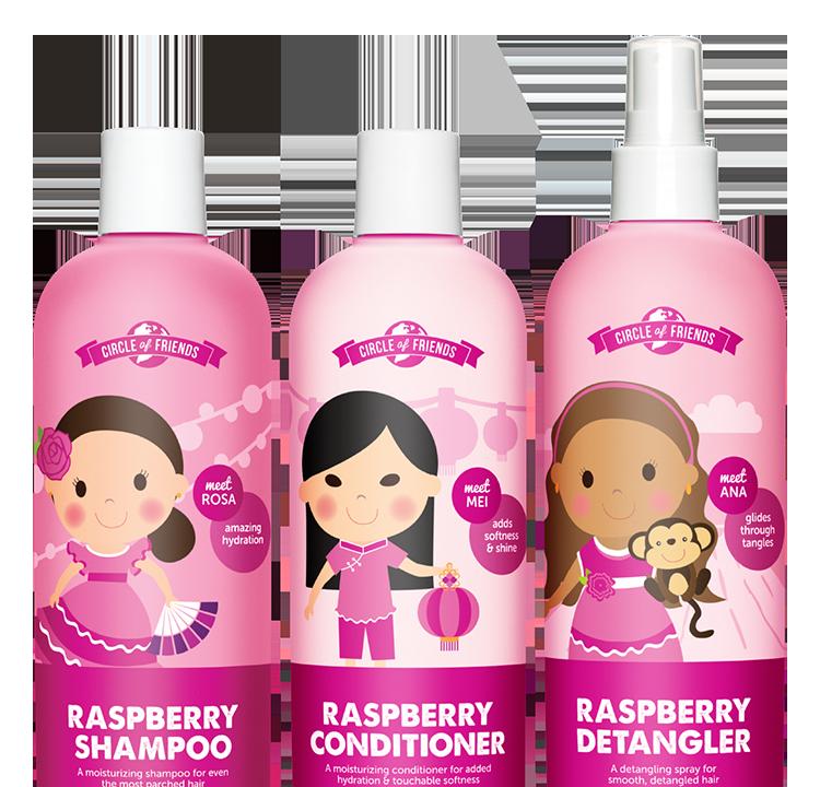 Shampoo wet hair