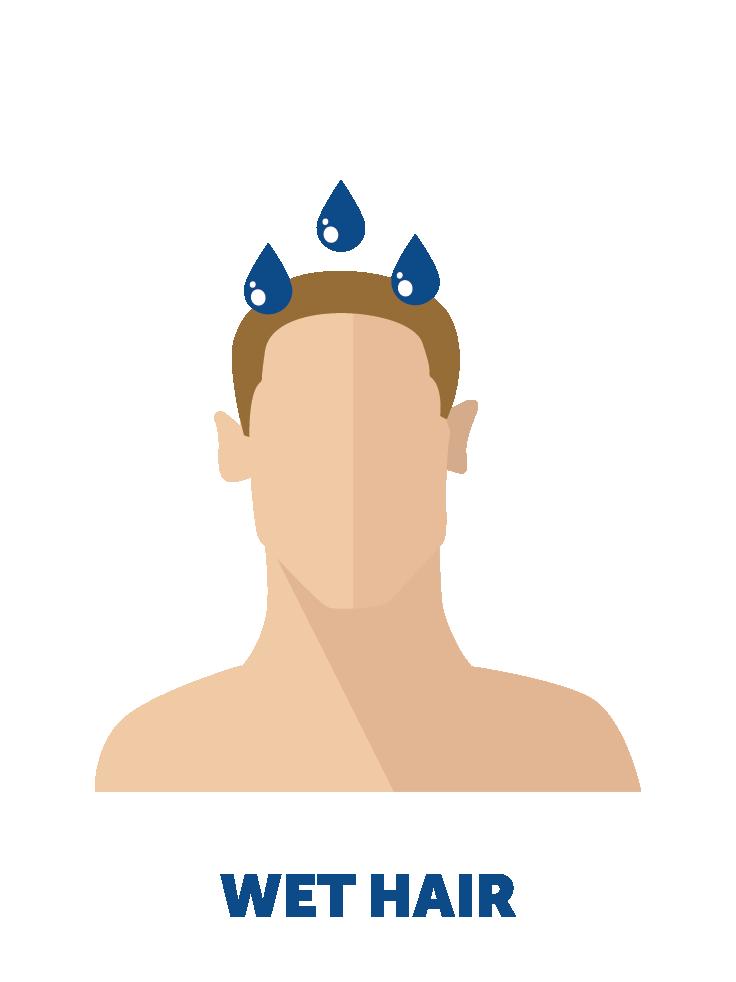 Pregaine product information regaine. Shampoo clipart wet hair