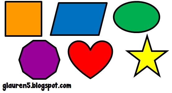 Shapes clipart. Basic cliparts free download