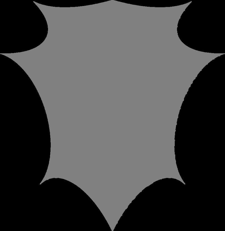 Shapes clipart shield. Shape escutcheon transprent png