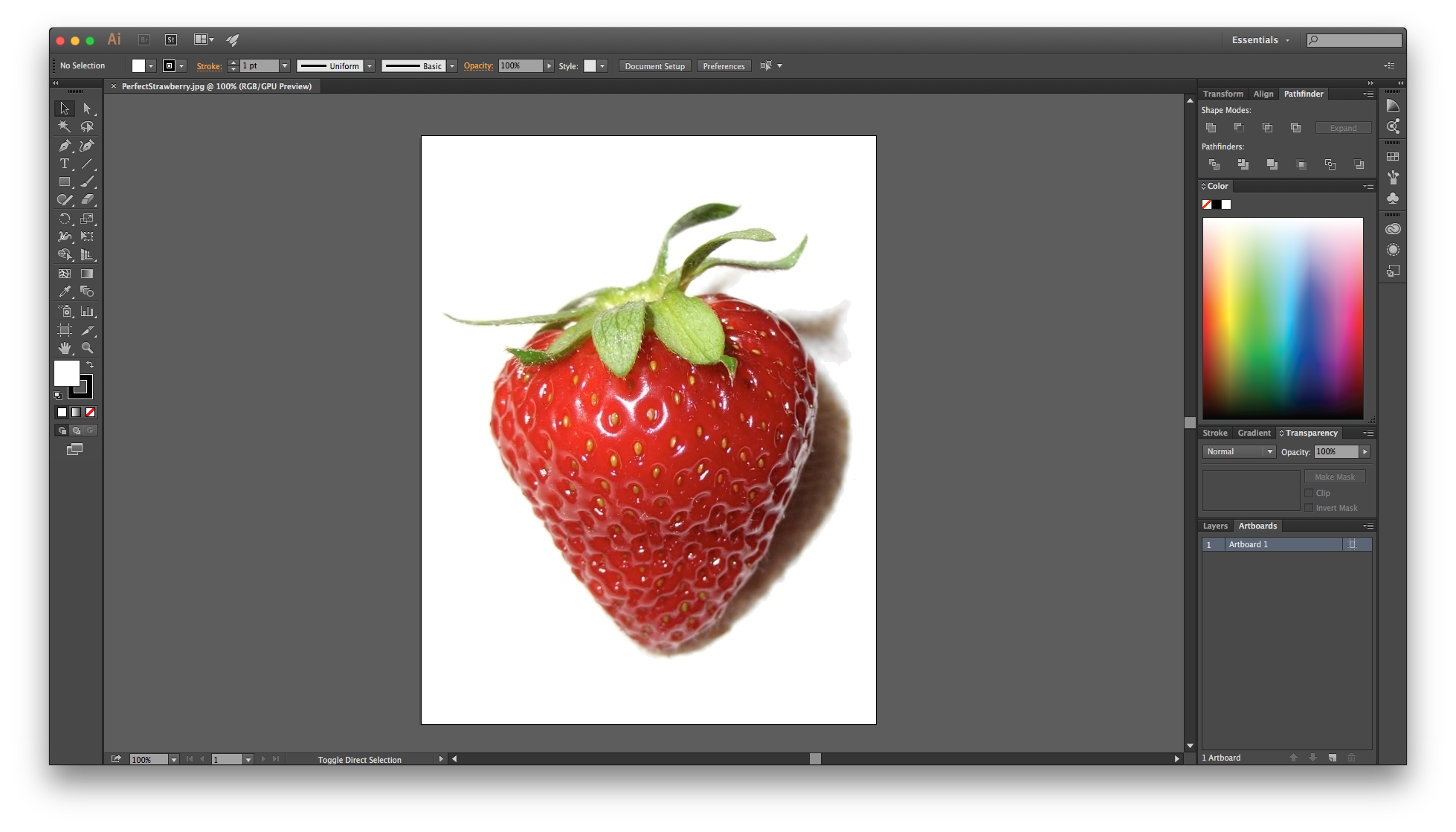 Strawberries clipart draw. Drawing in illustrator for