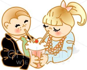 Kids smoothie wedding. Share clipart