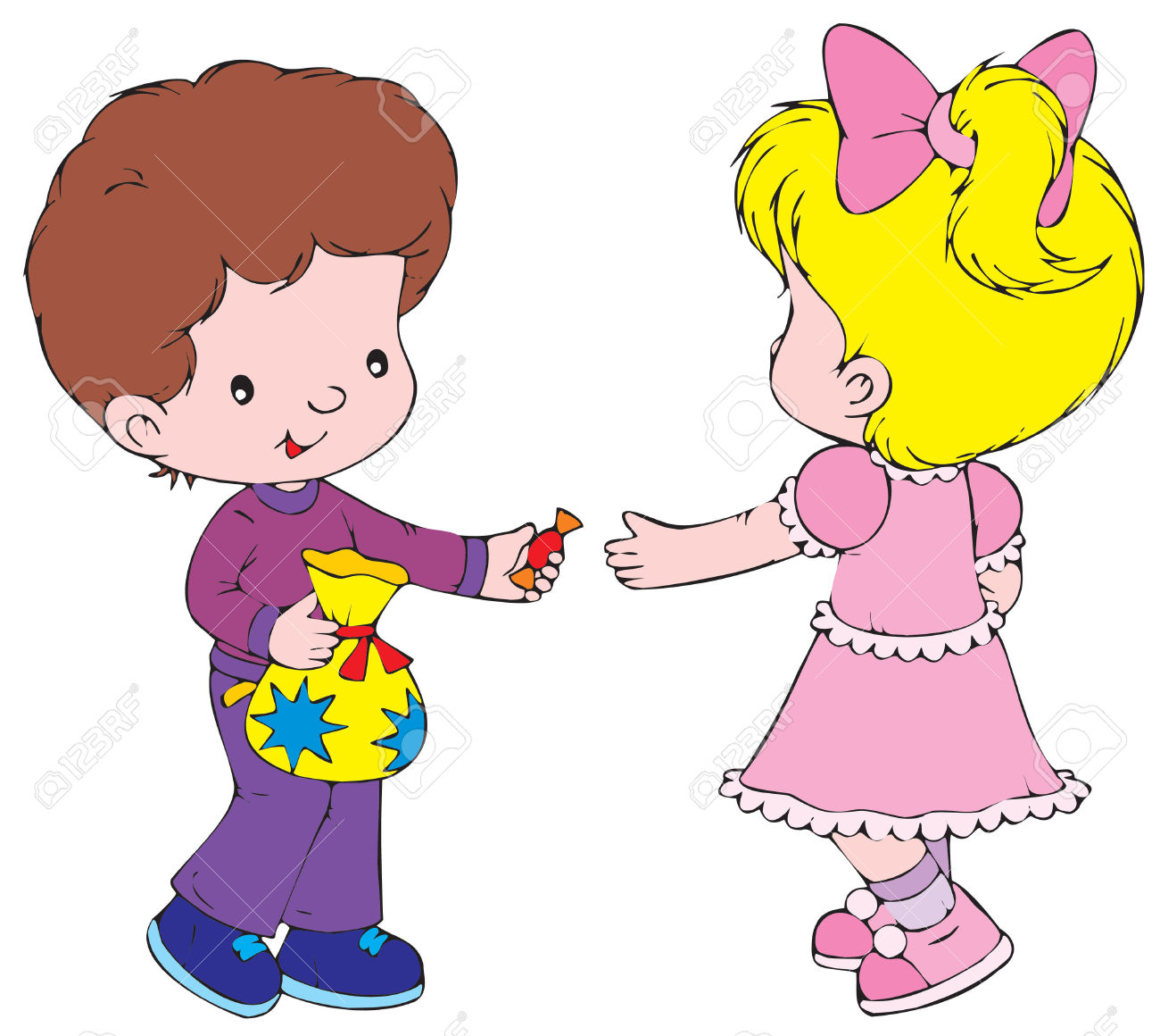 Sharing clipart. Station