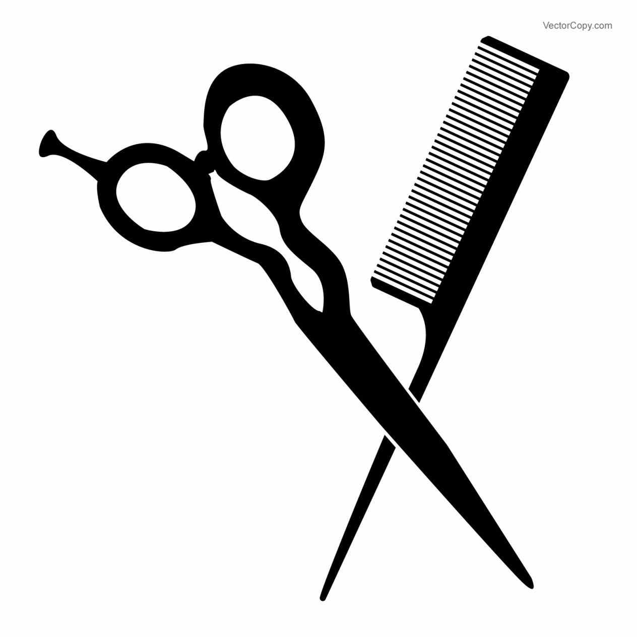 Shears clipart. Hair salon scissors clip
