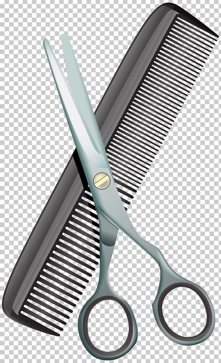 Comb hair cutting png. Shears clipart haircut scissors