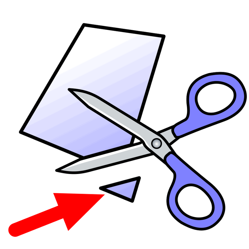 Shears clipart shovel. Symbol verbs s talksense