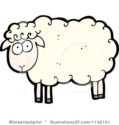 1 clipart sheep.  best clip art