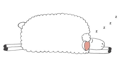 Sheep clipart asleep. Sleeping