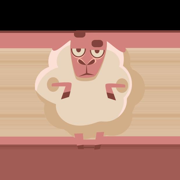 Sleep timer nature sounds. Sheep clipart asleep
