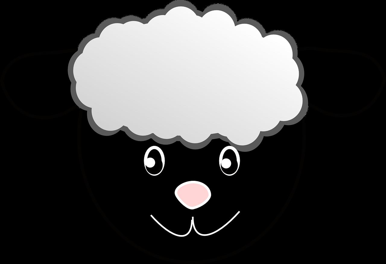 Sheep clipart baa baa black sheep. A popular nursery rhymes