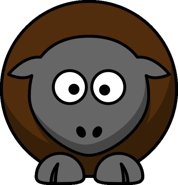 Sheep Cartoon Clip Art at Clker