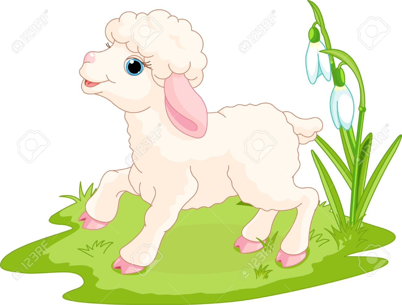 Lamb hd images . Sheep clipart easter