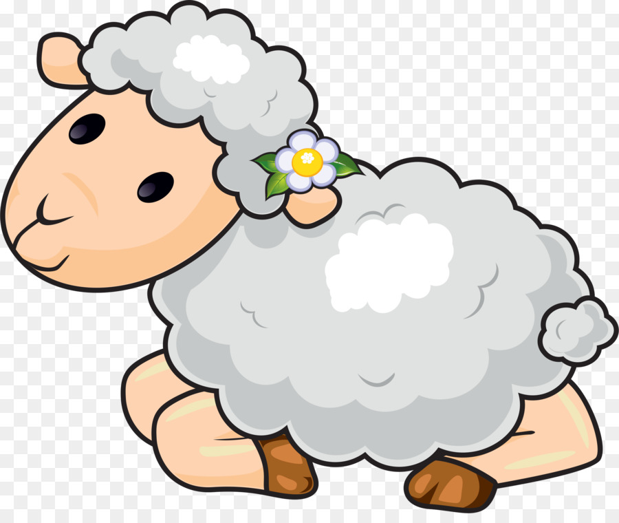 Sheep clipart family. Flower line art holiday