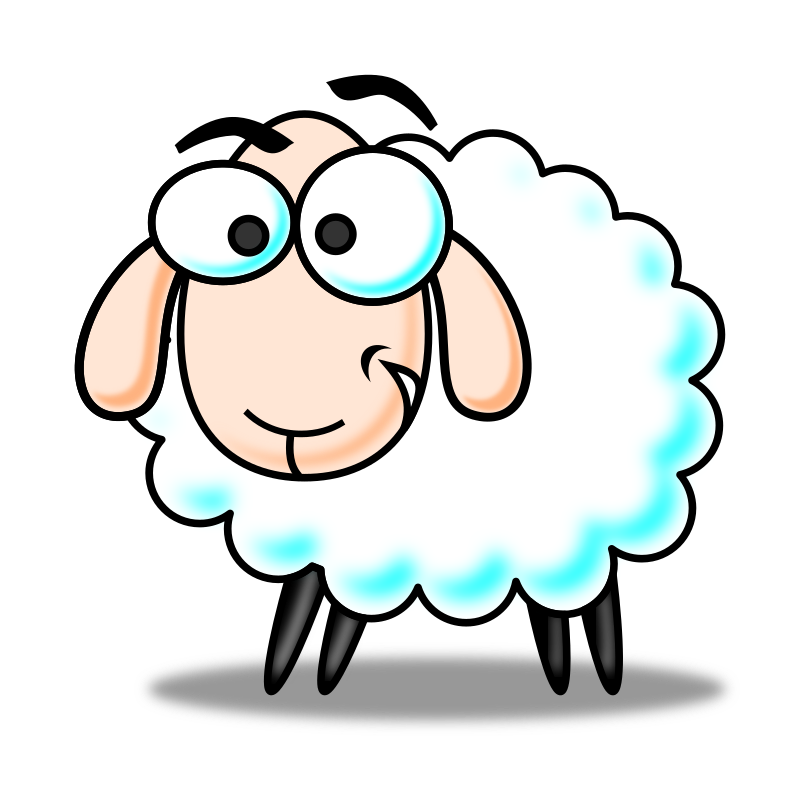 Sheep clipart family. Eid color medium image