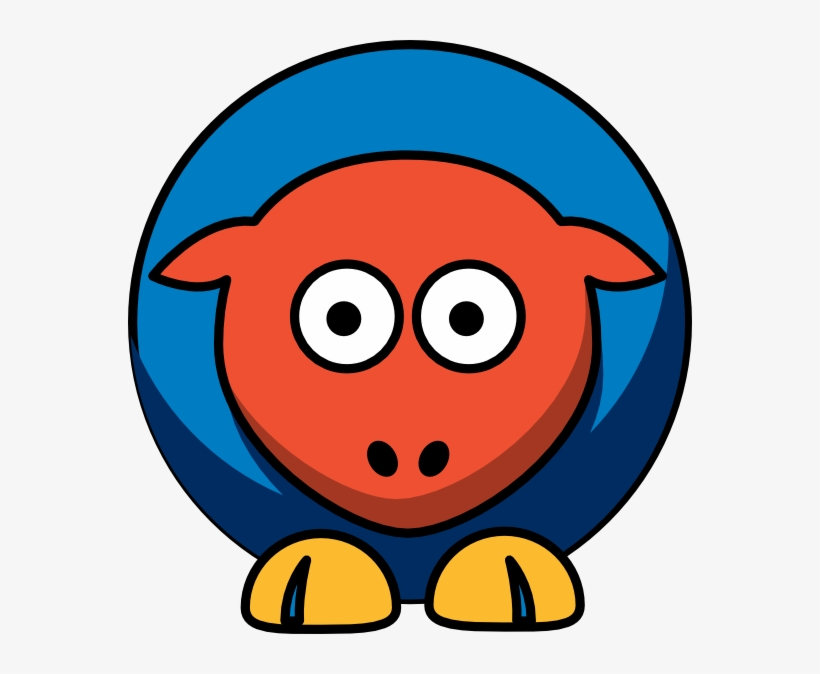 Png image transparent free. Sheep clipart orange
