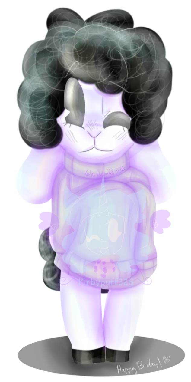 Bg tender by kirbypuff. Sheep clipart purple
