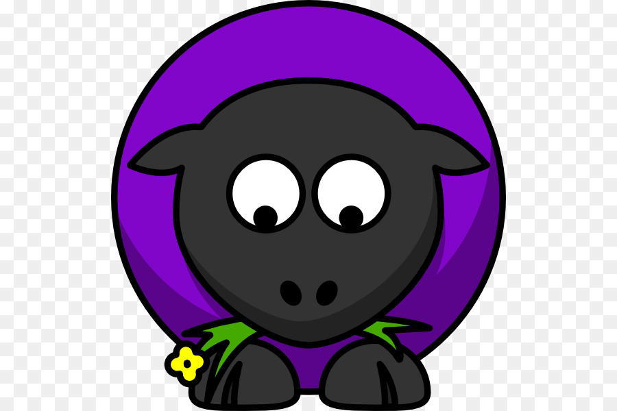 Sheep clipart purple. Download and goats cartoon