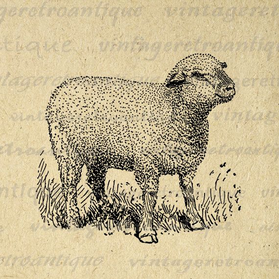 Sheep clipart vintage. Memory great grandma silhouette
