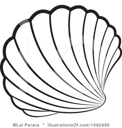 Shell clipart. Illustration art pinterest illustrations