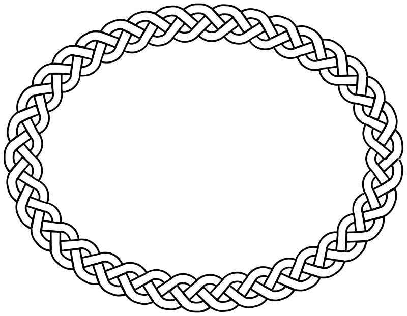 Oval clip art download. Shell clipart border